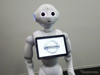 Hallo, Di Diler Nissan Anda Disapa Robot Lucu yang Bisa Baca Emosi Anda