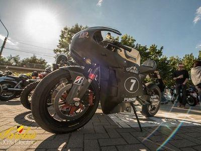 Produsen Motor Belgia Ini, Ingin Lahirkan Motor Listrik Balap Jalanan