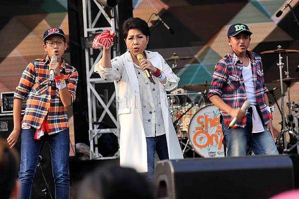 Slank hingga Sheila On 7 Meriahkan Mandiri Karnaval 2015