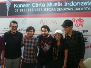 Konser Cinta Musik Indonesia Jadi Miniatur Industri Musik Nasional