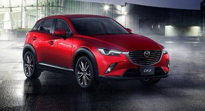 Mazda Produksi CX-3 di Thailand