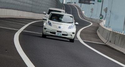 Nissan Perkenalkan Konsep Mobil Otonom Leaf Piloted Drive 1.0
