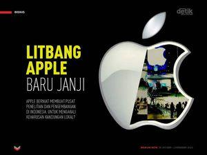 Litbang Apple Baru Janji