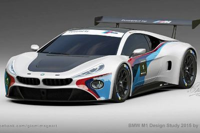 Inikah Bentuk Penerus BMW M1?
