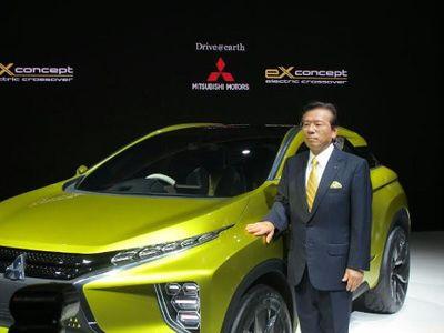 Mitsubishi Pamerkan Crossover Bertenaga Listrik