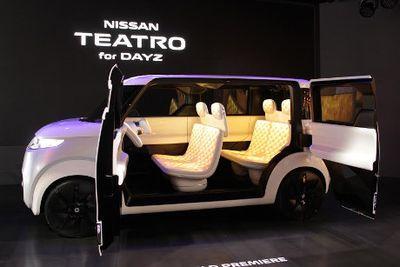 Nissan Teatro Ini Terinspirasi dari Smartphone