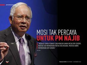 Mosi Tak Percaya untuk PM Najib