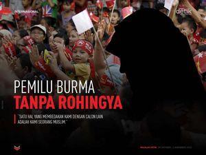 Pemilu Burma tanpa Rohingya