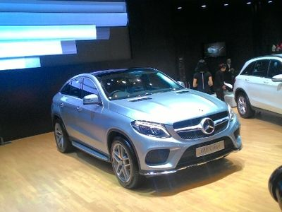 Manfaatkan Jakarta Auto Show, Mercy Luncurkan GLE 400 AMG Coupe