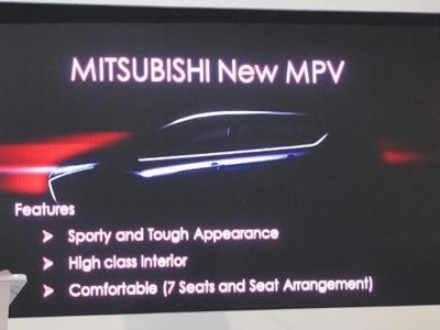 Mitsubishi Yakin MPV Pesaing Avanza-Xenia Akan Laku di Indonesia