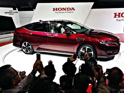 All New Clarity Fuel Cell, Mobil Andalan Masa Depan Honda