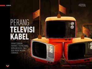 Perang Televisi Kabel