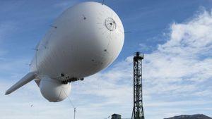 Pesawat Pendeteksi Peluru Kendali AS Terlepas