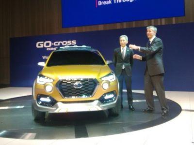 Datsun Luncurkan Mobil Konsep Crossover GO-cross