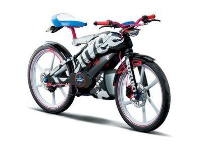Suzuki Feel Free Go, Kombinasi Antara Sepeda dan Motor