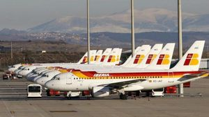 Pilot Iberia Menyebut Palestina, Padahal Mendarat di Israel