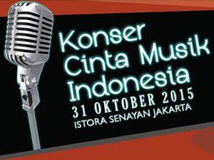 Rayakan Cinta Musik Nasional di KCMI Hari Ini