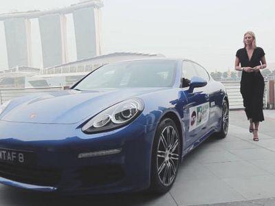 Si Cantik Maria Sharapova Jadi Brand Ambassador Porsche Panamera