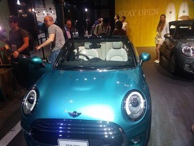 MINI Hadirkan Mobil Mungil S Covertible di Tokyo Motor Show