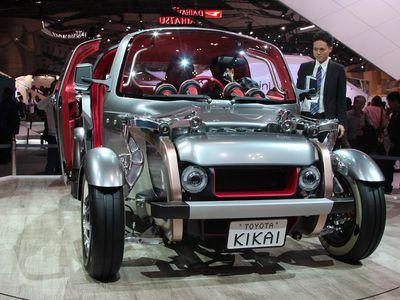 Kikai, Mobil Liar Buatan Toyota