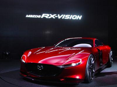 RX-Vision, Rotary Engine Mazda yang Cantik