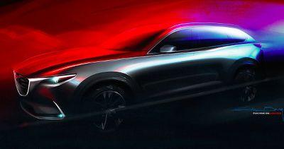 Mazda CX-9 Tampil dengan Teaser Terbaru