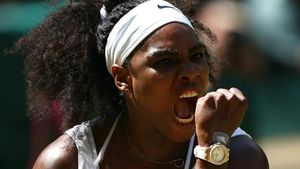 Petenis Serena Williams Bekuk Pencopet