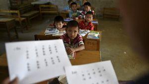 Kepala SD di China Ditegur Setelah Murid Gagal Tes Ideologi Komunis