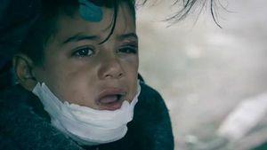 Azam Bocah Pengungsi Suriah Reuni dengan Keluarganya