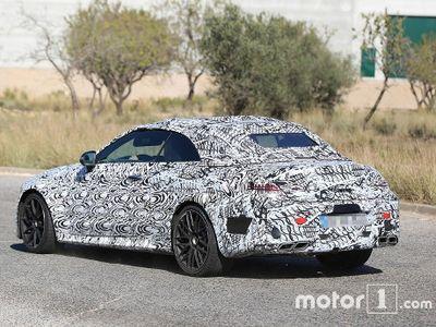 Ketahuan Mercedes-Benz Sedang Uji C63 AMG Cabriolet