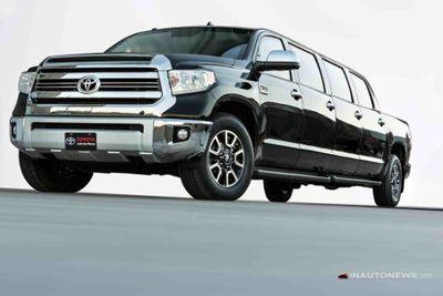 Gokil, Pikap Toyota Ini Jadi Limousine 8 Pintu