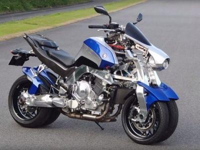 Wow, Yamaha Kembangkan Motor Sport Empat Roda
