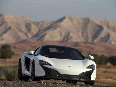 Goda Raja Minyak Arab, McLaren Luncurkan 650S Berlapis Emas Putih 24 Karat