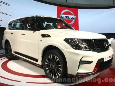 Nissan Patrol Nismo Lebih Mumpuni di Medan Off-Road Padang Pasir
