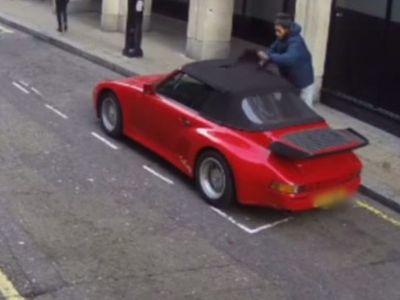 Pencuri Bodoh Ini Kebingungan Saat Ingin Menggasak Porsche