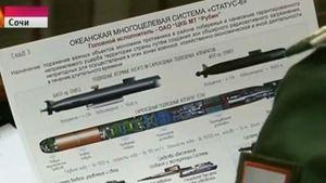 Torpedo Nuklir Raksasa Rusia Bocor ke TV