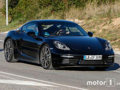 Porsche Cayman Ganti Tampang