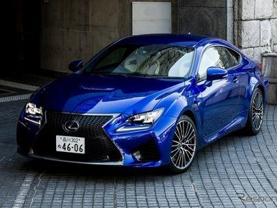 Lexus RC F Lebih Nyaman dan Stabil