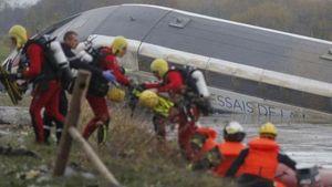Kereta Api Kecepatan Tinggi Prancis Keluar Jalur, 10 Orang Tewas