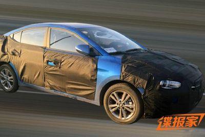 Hyundai Elantra Generasi Anyar Meluncur di China Akhir Bulan Ini
