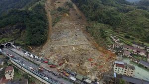 Longsor di Zhejiang China, 25 Orang Meninggal