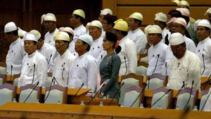 Parlemen Myanmar Bersidang Setelah Pemilu