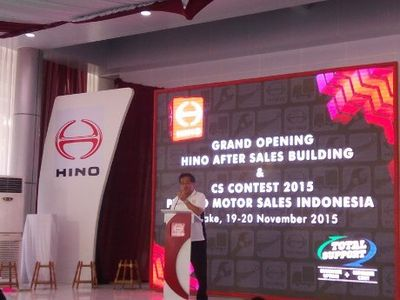 Hino Buka Gedung After Sales Baru di Tangerang