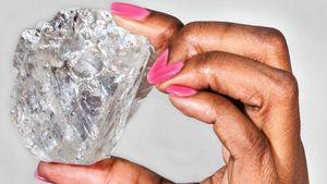 Berlian Terbesar Kedua Dunia Ditemukan di Botswana