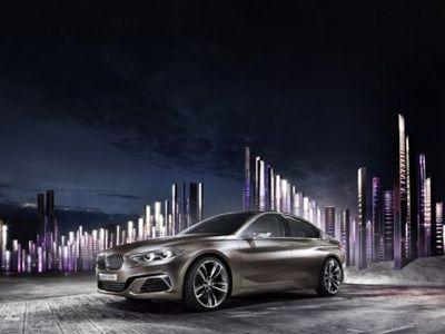 BMW Kenalkan Konsep Sedan Kompak Baru di Pameran Guangzhou