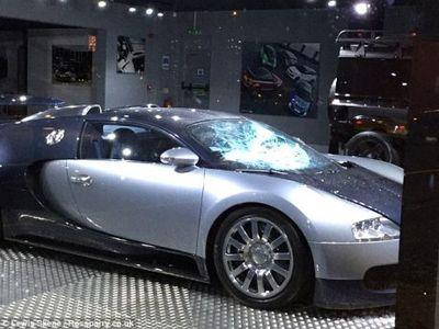 Bugatti Dirusak, Imbalan Rp 416 Juta Dijanjikan Bagi Penangkap Pelaku