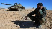 Militer Suriah Kuasai Kota ISIS di Barat