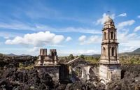 Kisah Gereja di Meksiko yang Tak Hancur Oleh Lava