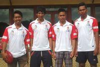 Empat Pemain Footy Indonesia Berlatih Bersama Tim Footy Australia