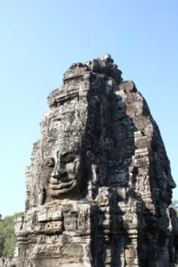 Mengagumi Ratusan Wajah Buddha di Candi Bayon, Kamboja